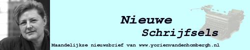 Nieuwe Schrijfsels - Nieuwsbrief